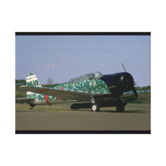 Replica Japanese Torpedo Bomber_WWII Planes Canvas Print