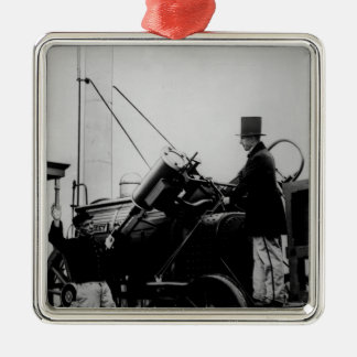 Replica of Stephenson's Rocket, 1929 Christmas Ornament