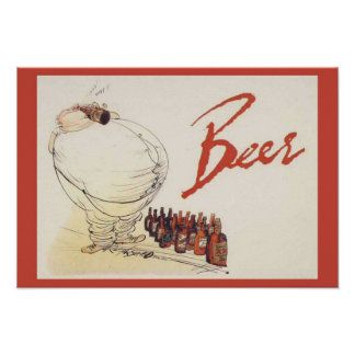 Replica Vintage advertising, Biere de St Nocholas, Poster