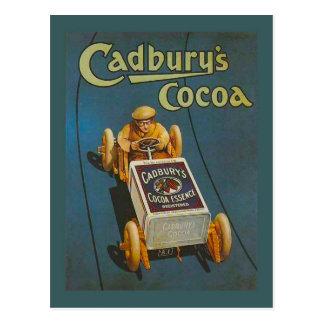 Replica Vintage advertising, Cadbury's Cocoa Postcard