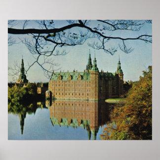 Replica Vintage  Denmark, Hillerod Castle Poster