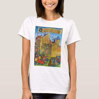 Replica Vintage France Medieval Carcassonne T-Shirt