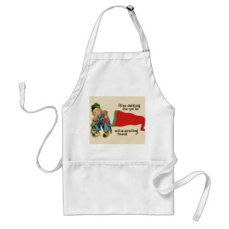 Replica Vintage image, Dutch boy flag Standard Apron