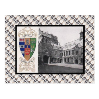 Replica Vintage,  Lincoln College Oxford Postcard