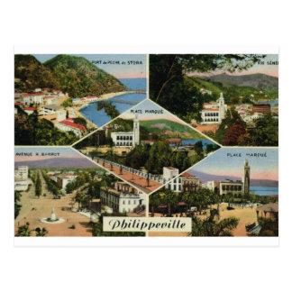 Replica Vintage Postcard Algeria, Philippeville