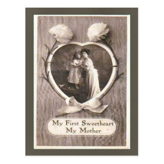 Replica Vintage postcard Mother s day 1