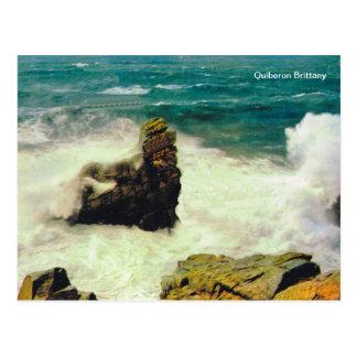 Replica vintage, Quiberon Brittany Postcard