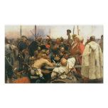 Reply of the Zaporozhian Cossacks ... - Customised Poster