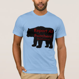 Report all Poachers T-Shirt