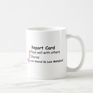 Report Card Mug