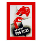 Report Dog Bites Poster