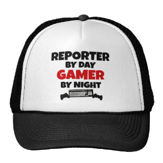 Reporter by Day Gamer by Night Cap