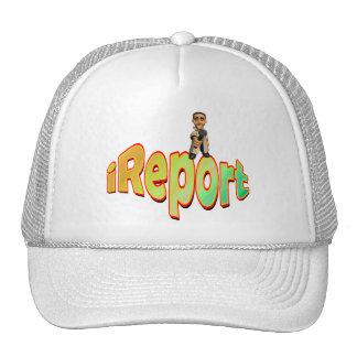 Reporter Trucker Hat