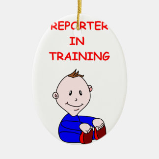 REPORTER CHRISTMAS TREE ORNAMENTS