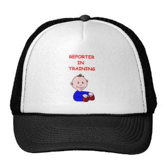REPORTER HAT
