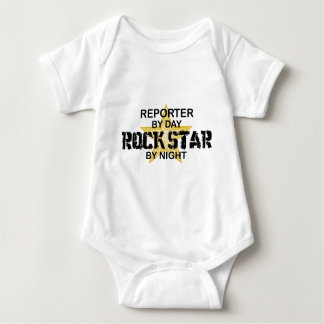 Reporter Rock Star by Night T-shirts