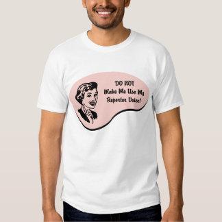 Reporter Voice T-shirt