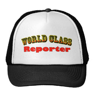 Reporters Trucker Hat