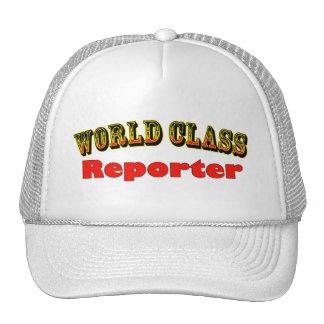 Reporters Trucker Hats