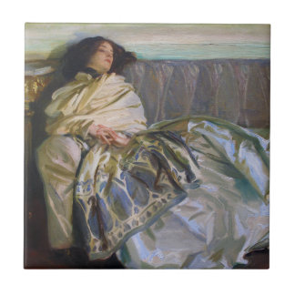 Repose by John Singer Sargent Tile