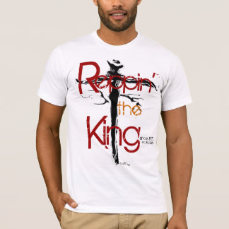 """""""Reppin the King"""" by Michael Crozz T-Shirt"""