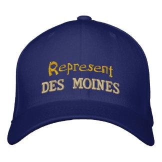Represent Des Moines Cap Embroidered Hats