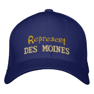 Represent Des Moines Cap Embroidered Hats