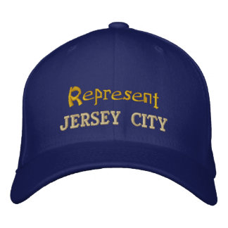 Represent Jersey City Cap Embroidered Baseball Caps