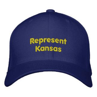 Represent Kansas Cap Embroidered Hat