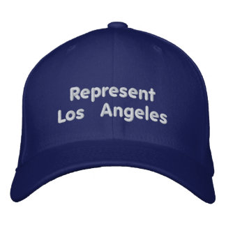 Represent Los Angeles Cap Embroidered Hat