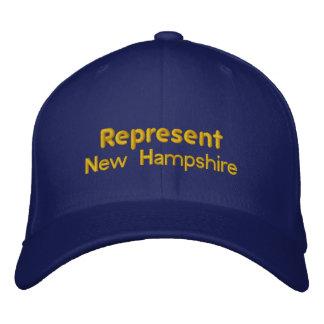 Represent New Hampshire Cap Baseball Cap
