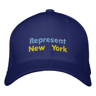 Represent New York Cap Embroidered Hat
