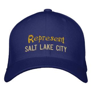 Represent Salt Lake City Cap Baseball Cap