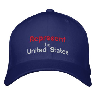 Represent the United States Cap Embroidered Baseball Caps