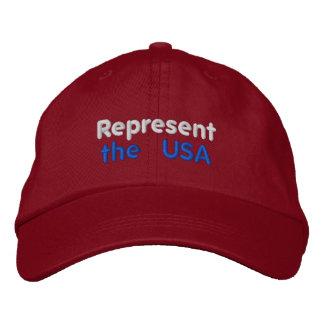 Represent the USA Cap Baseball Cap