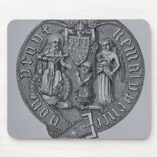 Representation of Edward the Black Prince Mousepad