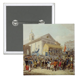 Representation of the Election of Members 15 Cm Square Badge