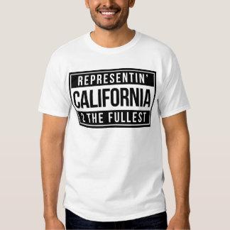 Representin' California 2 The Fullest Tees