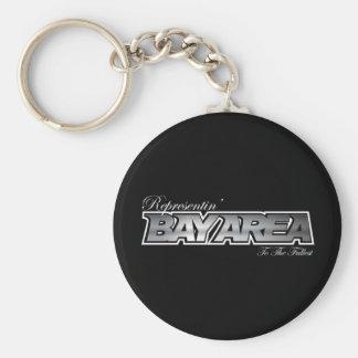 Representin' The Bay Area Keychain