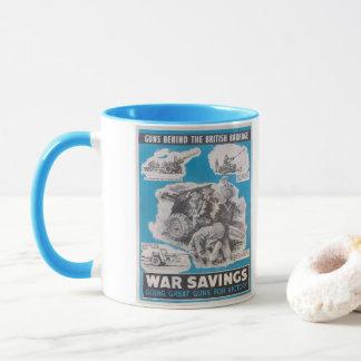 Reprint of British wartime poster. Mug