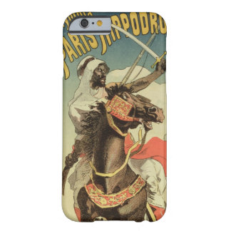 Reproduction of a advertising an 'Exhibitio Barely There iPhone 6 Case