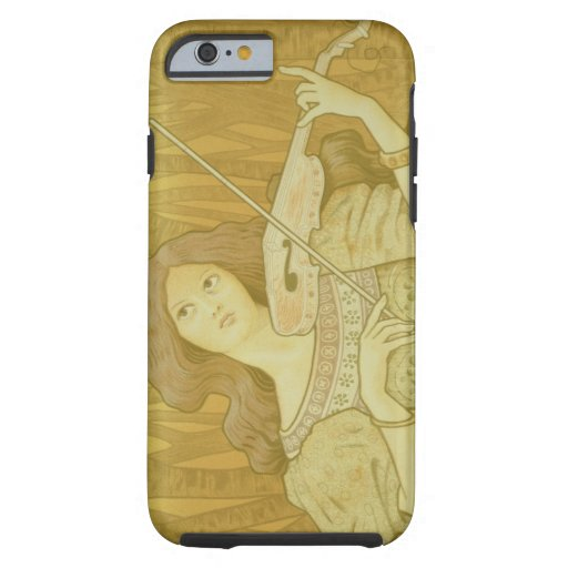 Reproduction of a advertising 'Violin Lesso iPhone 6 Case