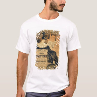 Reproduction of a poster advertising a book entitl T-Shirt