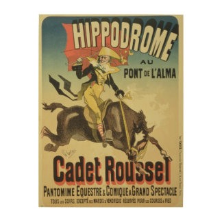 Reproduction of a poster advertising 'Cadet Rousse