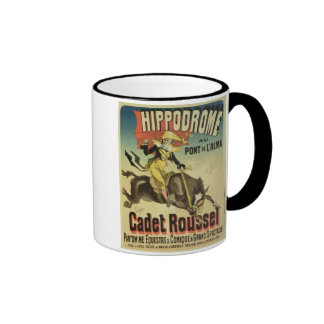 Reproduction of a poster advertising 'Cadet Rousse Mug