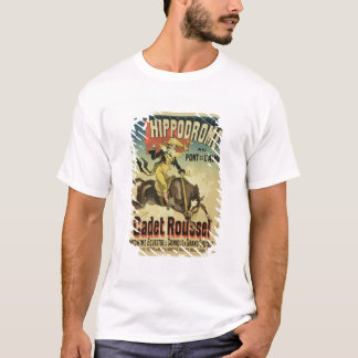 Reproduction of a poster advertising 'Cadet Rousse T-Shirt