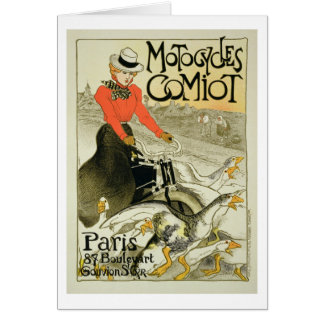 Reproduction of a Poster Advertising Comiot Motorc Card