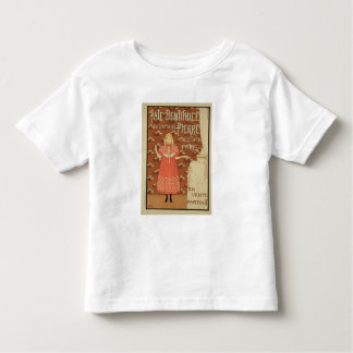 Reproduction of a poster advertising 'Doctor Peter Toddler T-Shirt