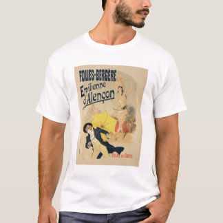 Reproduction of a poster advertising 'Emile d'Alen T-Shirt
