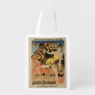 Reproduction of a poster advertising 'Fairyland, T Reusable Grocery Bag